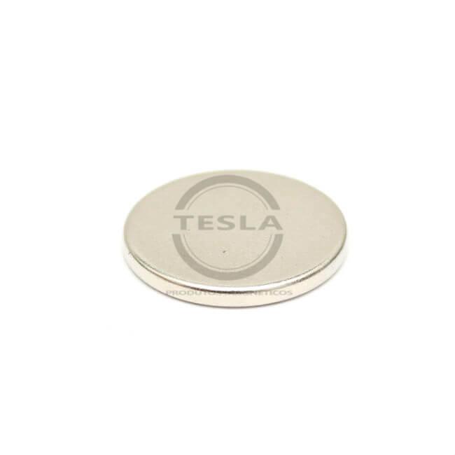 disco de neodimio 14x1,5mm