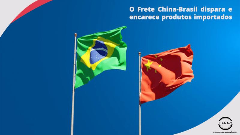 Frete China - Brasil Dispara, Deixando Importados mais Caros